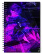 Night Rider . Square . A120423.936.693 Spiral Notebook