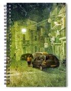 Night Scene In Sicily 2 Spiral Notebook