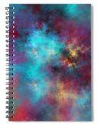 Night Sky Spiral Notebook