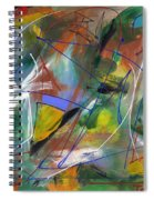 Night Songs Spiral Notebook