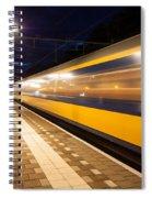 Night Speed Spiral Notebook