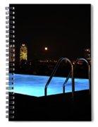 Night Swim Anyone Spiral Notebook