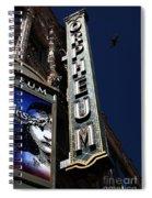 Nightfall At The Orpheum - San Francisco California - 5d17991 Spiral Notebook