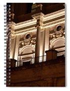 Nighttime Palace Spiral Notebook