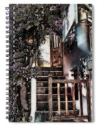 Nine Steps Mykonos Greece Spiral Notebook