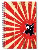 Ninjas Spiral Notebook
