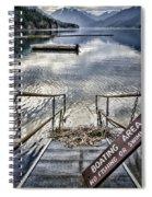No Fishing Spiral Notebook