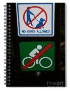 No Fun Allowed Spiral Notebook