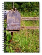 No Mail Today Spiral Notebook