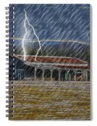No Matter The Weather-work Goes On Spiral Notebook
