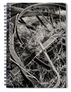 No More Plowing Spiral Notebook