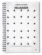 No033 My Hellraiser Minimal Movie Poster.jpg Spiral Notebook