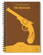 No077 My The Mexican Minimal Movie Poster Spiral Notebook