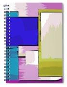 Nombre Abstrait 11 Spiral Notebook