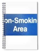 Non Smoking Area Spiral Notebook