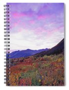 North Canol Road Near Macmillian Pass Spiral Notebook