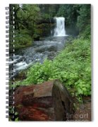 North Falls In Oregon Spiral Notebook