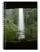 North Falls Oregon 2 Spiral Notebook