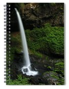 North Falls Oregon Spiral Notebook