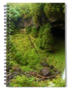 North Falls Waterfall Spiral Notebook