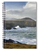 North Mayo, Co Mayo, Ireland Sea Cliffs Spiral Notebook