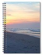 North Topsail Beach Serenity  Spiral Notebook