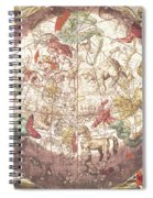 Northern Boreal Hemisphere From The Celestial Atlas Spiral Notebook