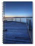 Northern Lake Evening Spiral Notebook