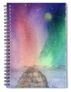 Northern Lights 4 Spiral Notebook