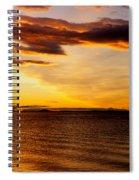 Northern Sunset Spiral Notebook