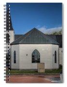 Norwegian Church Cardiff Bay 2 Spiral Notebook