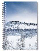 Norwegian Winter Spiral Notebook
