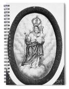 Nossa Senhora Da Paz Spiral Notebook