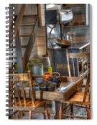 Nostalgia Country Kitchen Spiral Notebook