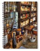 Nostalgia  Pharmacy Spiral Notebook