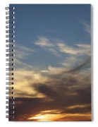 Nothing But Sky Spiral Notebook