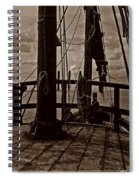 Notorious The Pirate Ship 4 Spiral Notebook