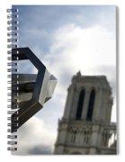 Notre Dame De Paris. France Spiral Notebook