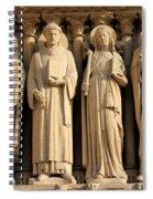 Notre Dame Details 1 Spiral Notebook