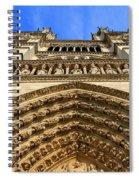 Notre Dame Details 7 Spiral Notebook