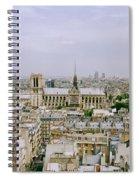 Notre Dame In Paris Spiral Notebook