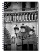 Notre Dame With Luminaires Spiral Notebook