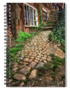Nottingham Bridge Footpath Spiral Notebook