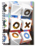 Noughts And Crosses Spiral Notebook