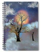 November Moon Spiral Notebook