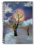 November Moon Spiral Notebook