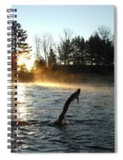 November Morning Mist Spiral Notebook