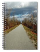 November On Macomb Orchard Trail Spiral Notebook
