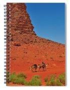 Nubian Camel Rider Spiral Notebook