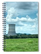 Nuclear Cooling Tower Spiral Notebook
